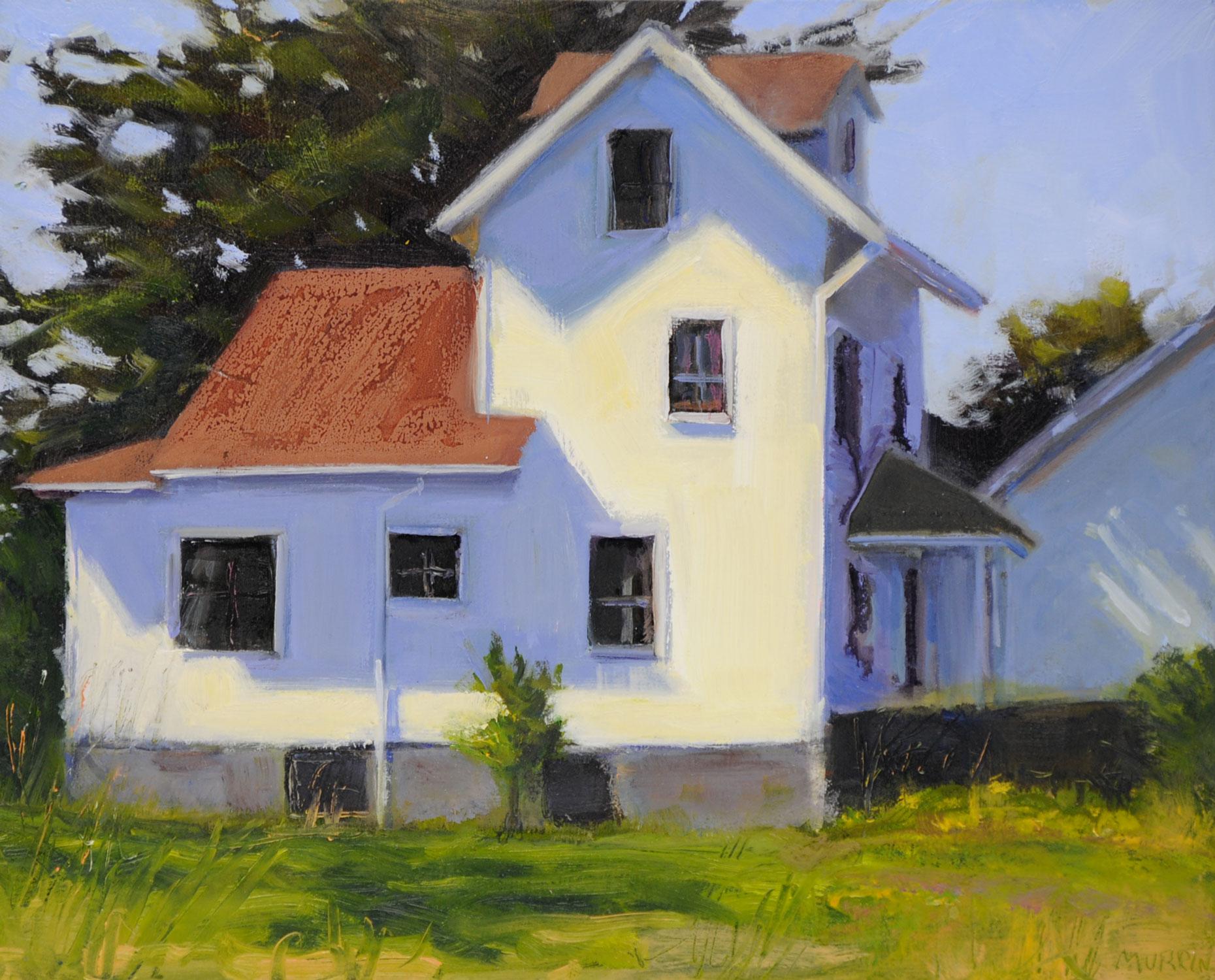 House in Sun